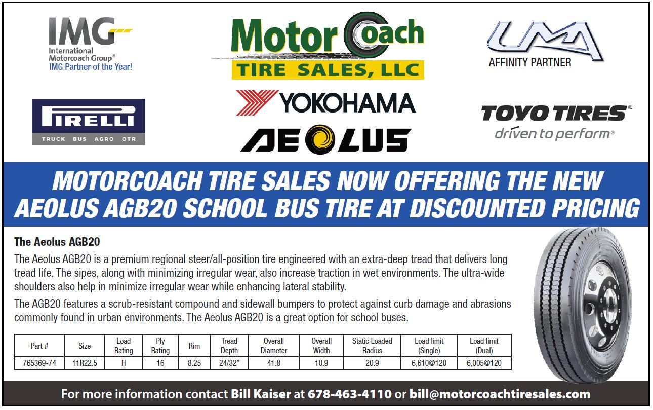 Aeolus Tires Available at Motor Coach Tire Sales in Columbus, GA 31901